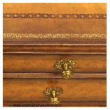 "NICE ""Maitland Smith Furniture"" Tooled Leather 2 over 3 Chest   Auction Estimate $400-$800 – Located"