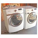 "PAIR of Like New ""Samsung"" Steam NSF and VRT Steam Washer and Dryer"