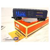 Lionel BC Toy Fair '00 Opening Doors and Magnetic Coupler Train Car in Box