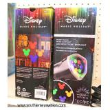 Working Disney Mickey Mouse Whirl Motion LED Projector Spot Light in Box