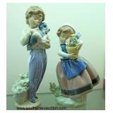 "Selection of ""Lladro"" Porcelain Figurines including: Ballerina Dancer and others"