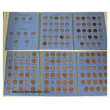 Lincoln Head Cent Books with some Pennies