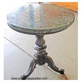 Mahogany Round Lamp Table  Auction Estimate $20-$50 – Located Inside