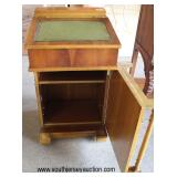 ANTIQUE Walnut Ship Masters Davenport Desk  Auction Estimate $200-$400 – Located Inside