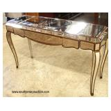 Modern Design All Mirrored Decorator Console Table  Auction Estimate $100-$300 – Located Inside