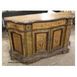 Decorator Paint Decorated Contemporary 2 Drawer 4 Door Credenza  Auction Estimate $200-$400 – Locat