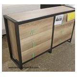 "NEW ""Coaster Furniture"" 6 Drawer Industrial Style Low Chest with Hardware  Auction Estimate $200-$4"