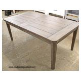 "NEW Rustic Country Barn Wood Style Dining Room Table (approximately 76""x40"")  Auction Estimate $200"