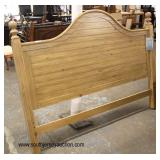 "NEW ""Cottage Creek Furniture"" Country Style King Size Headboard with Tags  Auction Estimate $200-$4"