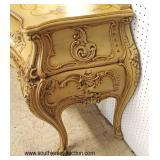 2 Piece Painted Decorated Italian 3 Drawer Console with Mirror  Auction Estimate $300-$600 – Locate