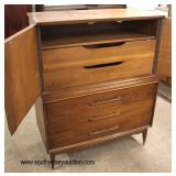 Mid Century Modern Danish Walnut High Chest with Fitted Interior  Auction Estimate $200-$400 – Loca