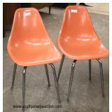 PAIR of Modern Design Egg Chairs  Auction Estimate $200-$400 – Located Inside