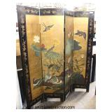 Selection of Asian Folding Room Screens  Auction Estimate $100-$400 each – Located Inside