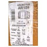 "NEW ""Arlington"" 10' x 8' Shed in Box (Trim Color Cream; Roof Color Eggshell; Wall Color Eggshell –"