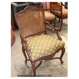 Country French Decorative Arm Chair  Auction Estimate $100-$200 – Located Inside