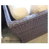 NEW All Weather Resin Wicker Modular Outdoor Conversation Set  Auction Estimate $300-$600 – Located