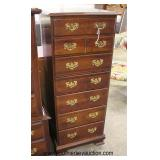 SOLID Mahogany 7 Drawer Lingerie Chest in the Manner of Henkel Harris Furniture  Auction Estimate $