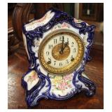 Collection of ANTIQUE Clocks including: Ansonia Clock Co., Brewster & Ingrahams CT. US, New Haven C