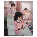 Large Collection of Madam Alexander Dolls, Keepsake Musical Dolls and Others in Original Boxes  Auc
