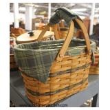 "Large Collection of ""Longaberger"" Baskets – Different Sizes and Styles  Auction Estimate $10-$100 e"
