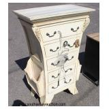 Decorator Chest with Magazine Rack Sides  Auction Estimate $200-$400 – Located Inside