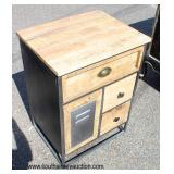 Industrial Style Side Cabinet  Auction Estimate $100-$300 – Located Inside