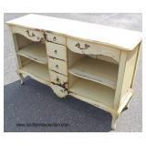 Country French Style Open Front Buffet  Auction Estimate $200-$400 – Located Inside