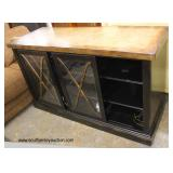 Contemporary Sliding Door Media Cabinet  Auction Estimate $200-$400 – Located Inside