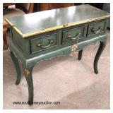 Paint Decorated 3 Drawer Server  Auction Estimate $200-$400 – Located Inside