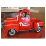 "Press Tin Toy Truck Paint Decorated with ""Philadelphia Phillies""  Auction Estimate $100-$200 – Loca"
