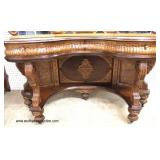 VERY VERY GOOD Condition  FANTASTIC 6 Piece ANTIQUE Depression Burl Walnut and Oak Bedroom Set with