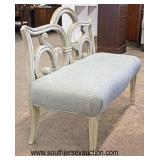NEW Contemporary Decorative Bench  Auction Estimate $100-$300 – Located Inside