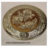 8 Marked 925 Commemorative Coins  Auction Estimate $100-$200 – Located Glassware