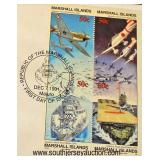 """First Day Cover of """"To the Heroes of Pearl Harbor""""  Auction Estimate $5-$10 – Located Glassware"""