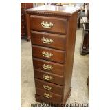 SOLID Cherry Bracket Foot Lingerie Chest  Auction Estimate $100-$300 – Located Inside