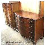 Selection of Mahogany High and Low Chest  Auction Estimate $300-$600 – Located Inside