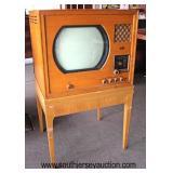 VINTAGE Dumont Television Radio on Frame  Auction Estimate $100-$200 – Located Dock