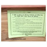 VINTAGE CLEAN Burl Walnut Cedar Chest  Auction Estimate $100-$300 – Located Inside