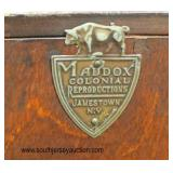 """SOLID Mahogany """"Maddox Furniture"""" Ball and Claw Secretary  Auction Estimate $100-$200 – Located Insi"""