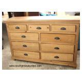 NEW Rustic Style 9 Drawer Dresser  Auction Estimate $100-$300 – Located Inside