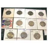 Selection of State Quarters  Auction Estimate $10-$20 – Located Glassware