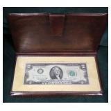 """""""The United States of American's Two Dollar Bicentennial Commemorative Bill"""" First Day Issue – April"""