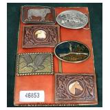 Selection of Belt Buckles  Auction Estimate $50-$200 – Located Inside