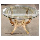 5 Piece Decorative Bird Head Breakfast Table and 4 Chairs  Auction Estimate $200-$400 – Located Insi