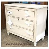 Selection of NEW Shabby Chic Decorated Chest  Auction Estimate $100-$300 – Located Inside