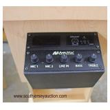 """NEW """"AmpliVOX Portable Sound Systems Executive Adjustable Column Sound Lectern WORKING with Paperwor"""