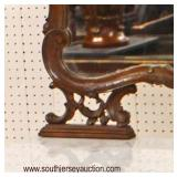 ANTIQUE Country French Marble Top Dresser with Mirror  Auction Estimate $300-$600 – Located Inside
