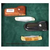 Selection of Pocket Knives including; Ka-Bar USA & Solingen  Auction Estimate $10-$30 each – Located