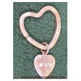 "Sterling ""Tiffany and Company"" Heart Pendant  Auction Estimate $25-$100 – Located Glassware"