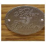 "Burl Mahogany ""Baker Furniture"" Taper Leg ""D"" Shape Sideboard  Auction Estimate $300-$600 – Located"